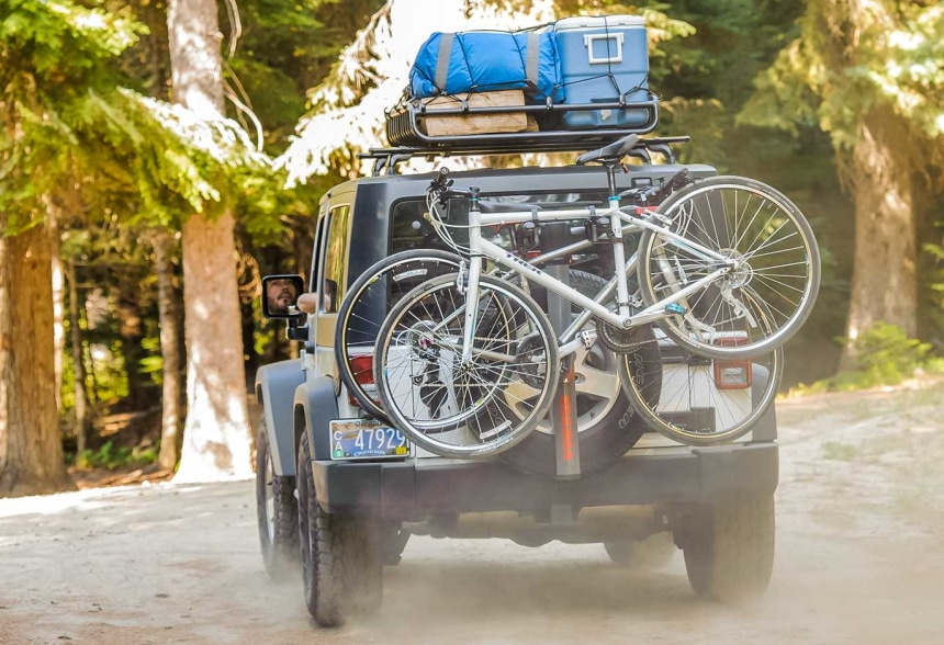 14 Excellent Spare Tire Bike Racks - No Need to Choose What You Take on a Ride