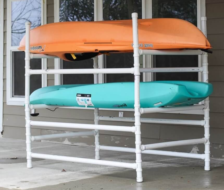 How to Build a Kayak Rack: 3 Best Designs
